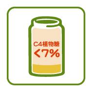 通過碳同位素 檢驗(C4檢驗)