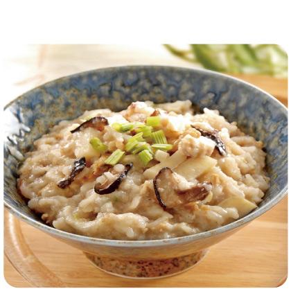 竹筍雞肉粥