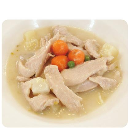 法式蔬菜奶油燉雞